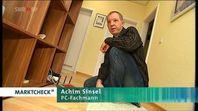 Marktcheck 10.11.2004 Achim Sinsel Gefahren im Internet